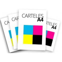 Carteles A4 a todo color