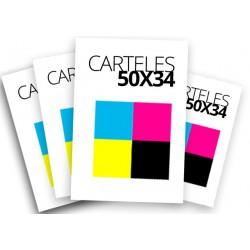 Carteles 50x34 a todo color